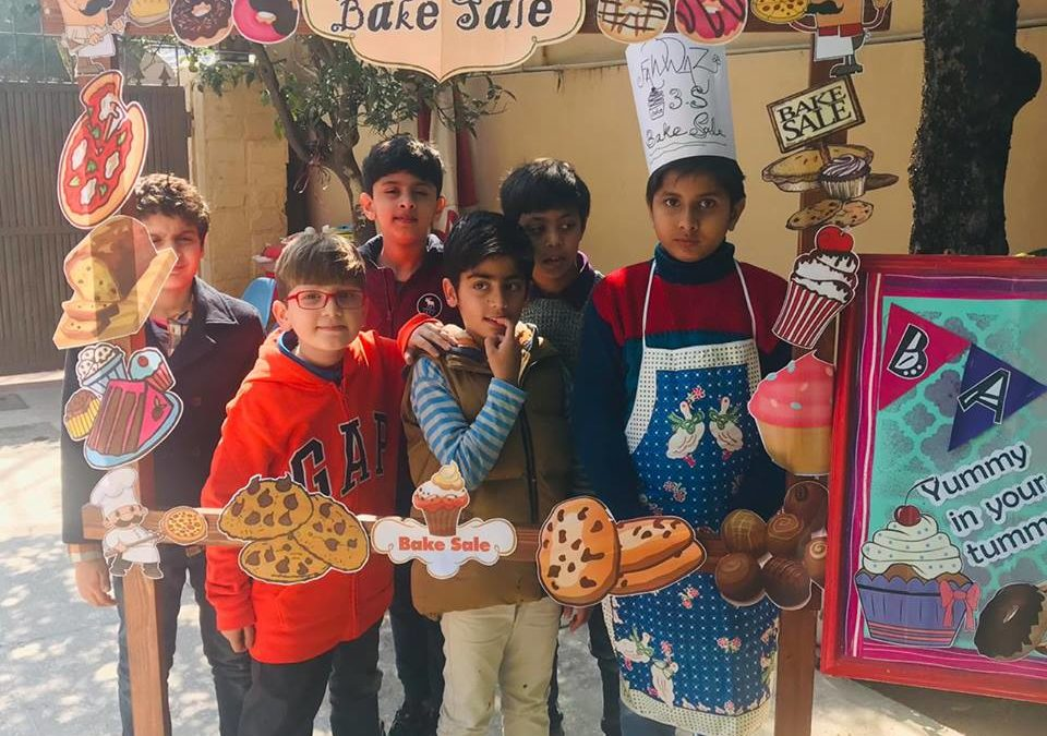 Bake Sale by Grade 3 Junior Branch